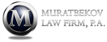 MURATBEKOV LAW FIRM, P.A. Logo
